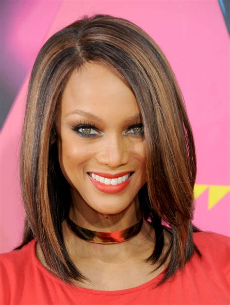 medium hairstyles for thick hair and haircare tips