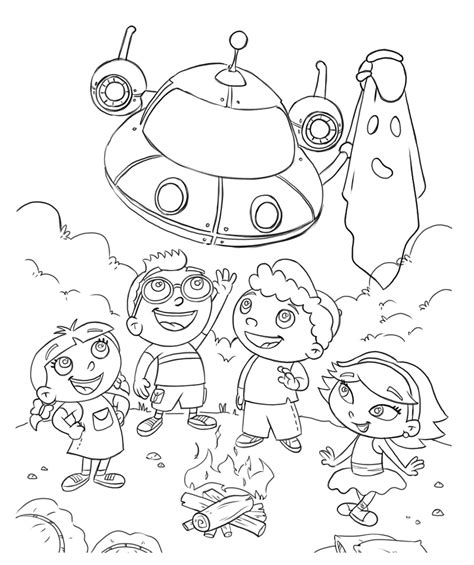 printable  einsteins coloring pages  ready  learn