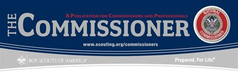 The Commissioner Newsletter | Boy Scouts of America