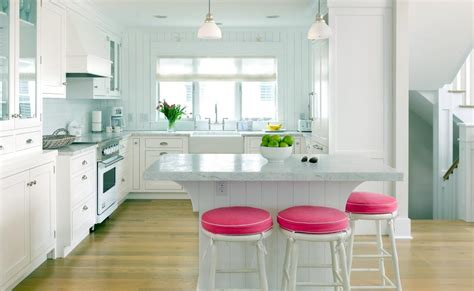 interior design kitchen colors u shaped kitchen design with white cabinetry and marble