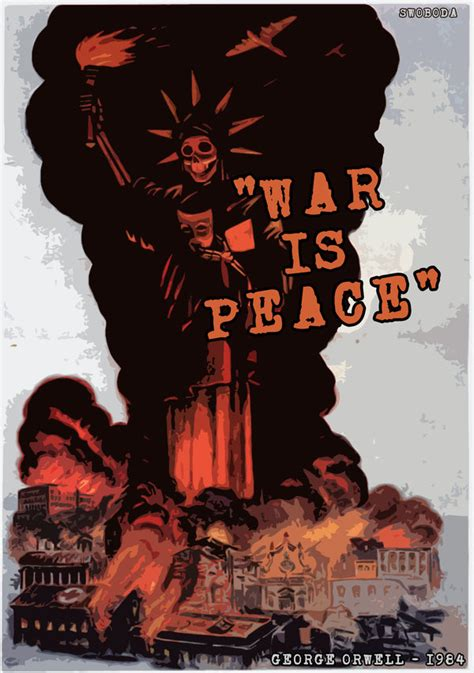 propaganda war anti posters italy peace american ww2 italian poster 1984 liberty statue fascist wwii liberators ii america history military