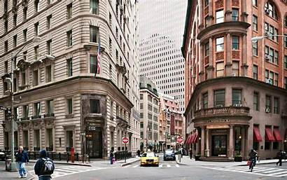 York Street Road Building Usa Wall Wallpapers