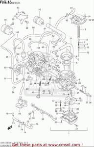 Suzuki Gs500 F  Usa  Carburetor