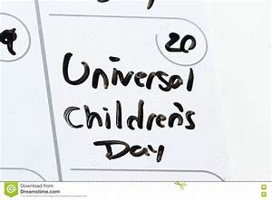 Universal children's day stock image. Image of object ...