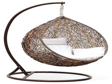 hanging swing chair outdoor outdoor wicker swing chair