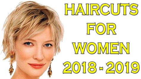 Hairstyle 2019 : Short Hairstyles For Fall Winter 2018