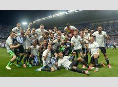 MálagaReal Madrid el Madrid campeón de Liga 201617 AScom