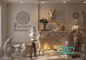 55 Living Room Classic 55 3dsmax File Free Download 3D