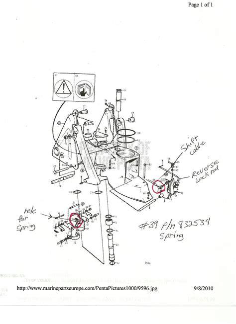 Volvo Pentum 270 Trim Wiring Diagram by Volvo Penta 290 Outdrive Diagram Wiring Diagram And Fuse Box
