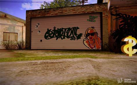 Graffiti Gta : Hd Graffiti On Garage Cj At Gantone For Gta San Andreas