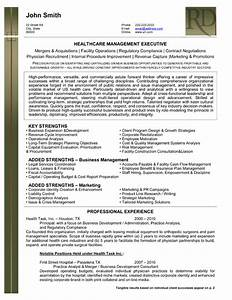 health care management executive resume template premium With healthcare executive resume