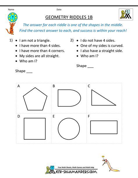 math worksheet answers geometry breadandhearth
