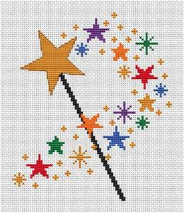 Rug Seller Uk by Magic Wand Cross Stitch Pattern Printable Counted Cross