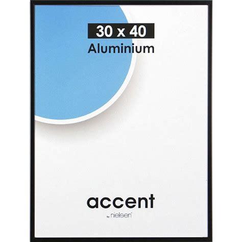 cadre accent 30 x 40 cm noir leroy merlin
