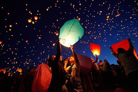 latest travel news paper lanterns  poznan poland