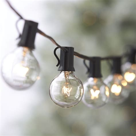 outdoor christmas globe lights globe string lights crate and barrel