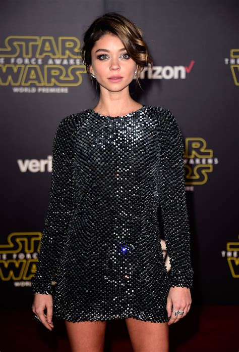 Sarah Hyland - Star Wars: The Force Awakens Premiere in ...