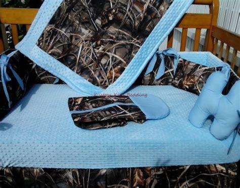 realtree camo baby bedding real tree max 4 advantage camouflage and baby blue crib