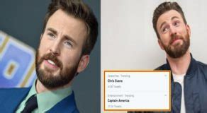 Chris Evans Accidentally Post Private Photo On IG