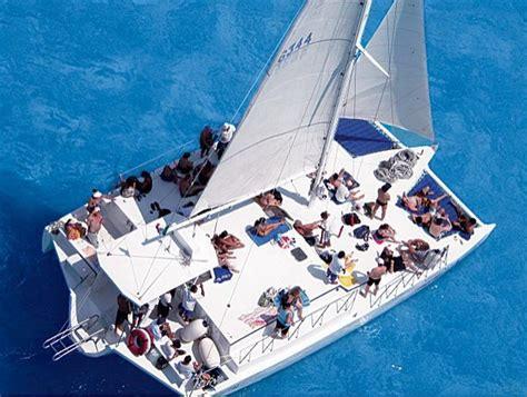 Catamaran Excursion Jamaica by Private Catamaran Cruise To Dunn S River Falls