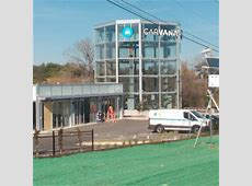 Is Carvana building a car vending machine in Austin? See