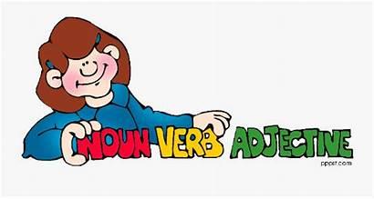 Clipart Grammar English Adjectives Student Adjective Noun