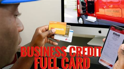Other factors, such as our own a good credit card application will require some prep work on your part. Trucking Fuel Card Build Business Credit & Invoice Factoring - YouTube