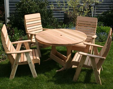 picnic table with umbrella hole small round outdoor wooden picnic table with umbrella hole