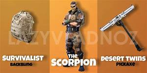 Skin Concept The Toxic The Sand Lurker The Scorpion