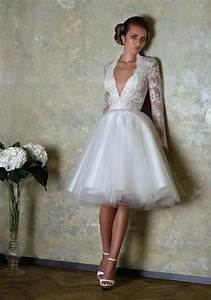 Short wedding dresses with luxury details modwedding for Quick wedding dresses