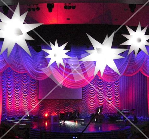 led inflatable star decoration 6 night club supplies