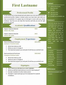 Free cv resume templates 360 to 366 free cv template for Free resume download word