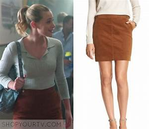 Riverdale Season 1 Episode 10 Bettyu2019s Tan Mini Skirt u2013 Shop Your TV