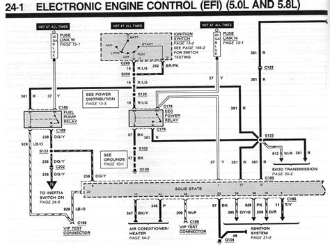 1989 Ford E40d Wiring Diagram by Fuel Injection Technical Library 187 Truck Evtm S