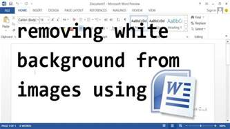 remove white background  images microsoft