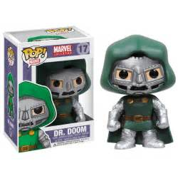Marvel Comics Fantastic Four Dr. Doom Pop! Marvel Vinyl Bobblehead