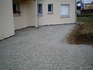 Allée Carrossable Tout Venant : la terrasse avant apr s la couche de tout venant ma ~ Premium-room.com Idées de Décoration