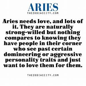 how true....need lots of love | Aries the Ram- Me ( April ...