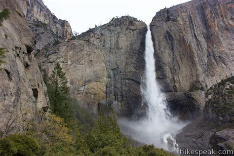 Yosemite Falls Trail National Park Hikespeak