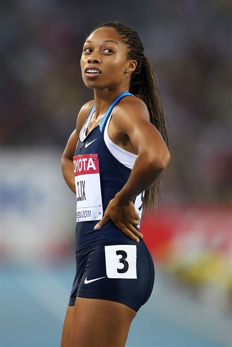 allyson felix   iaaf world athletics championships