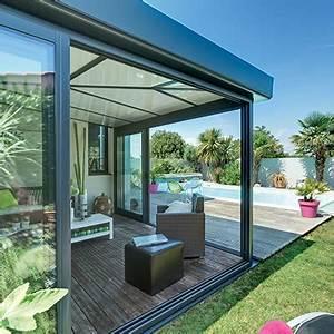 Rideau De Toit Pour Veranda : extension veranda rideau veranda ~ Melissatoandfro.com Idées de Décoration