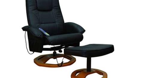 si鑒e chauffant massant fauteuil massant pas cher 149 9 fauteuil avec repose pieds port inclus