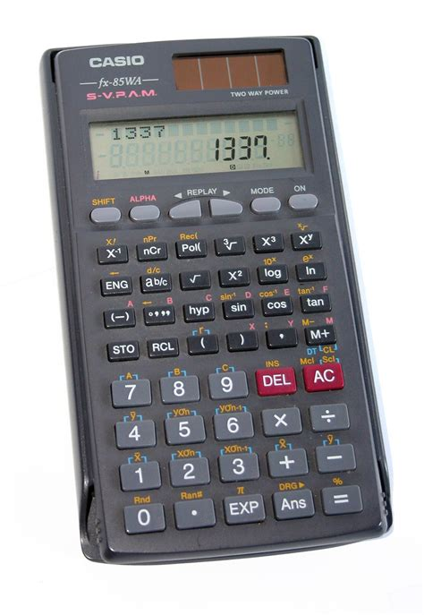 How to solve equations with Casio FX-85WA calculator ...