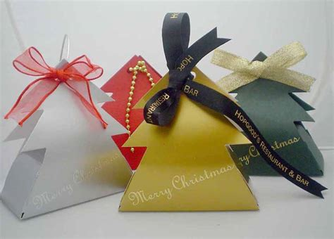 Christmas Boxes, Bags, Decorations