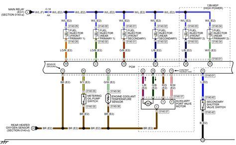 Fuel Wiring Harnes Diagram by 2005 Fuel Injector Wiring Rx8club