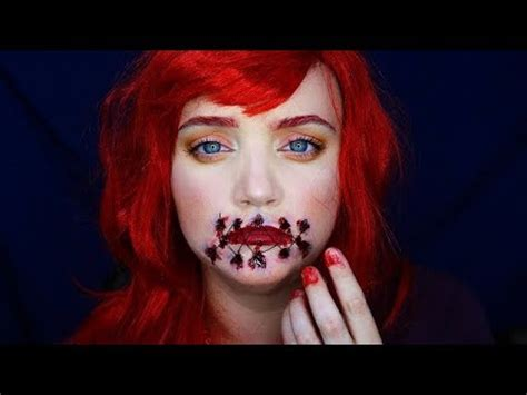 foto de Ariel l Mouth Sewn Shut l Makeup Tutorial YouTube