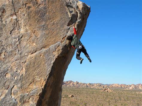 Rock Climbing In Joshua Tree National Park, California