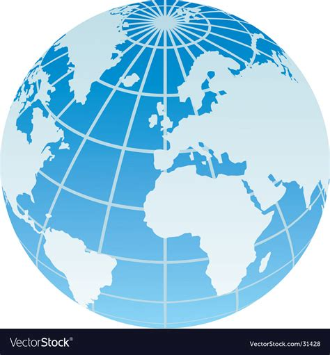 foto de Globe Royalty Free Vector Image VectorStock