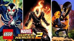 LEGO Marvel Super Heroes 2 - Ghost Rider, Shocker, Venom ...