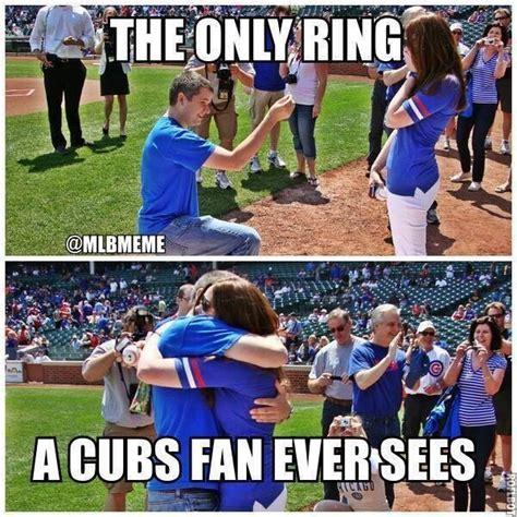 Cubs Fan Meme - only ring a cubs fan will see sports memes pinterest